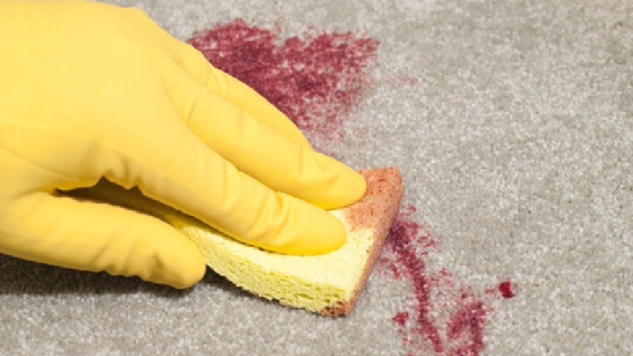 Как очистить ковер от винных пятен фото